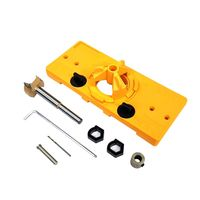 Multifunction Hinge 35mm Jig Drilling Guide Locator Hole Opener Door Cabinets DIY Tool for Woodworking Hand Tools
