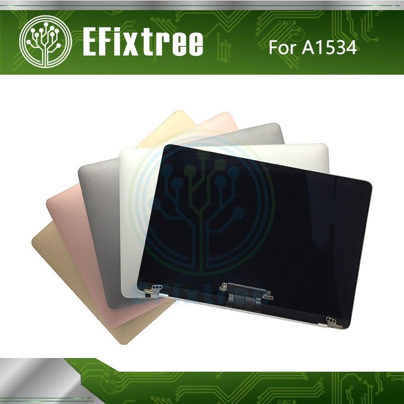 Conjunto de pantalla Original de 12 ''A1534 para Macbook Retina 12'' A1534 pantalla LCD 2015 2016, 2017