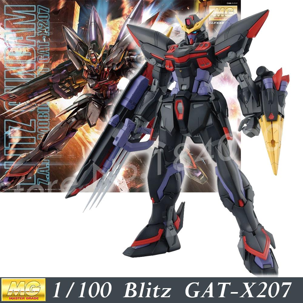 Daban 6615 2016 Model GAT-X207 Blitz MG 1/100 Gundam Seed Mobile Suits ZAFT Assembled MG 157 Action Figures plastic toys Japan forex b016 6615