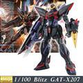 Daban 6615 Modelo 2016 GAT-X207 Blitz MG 1/100 Gundam Seed Ternos ZAFT móvel Montado MG 157 Figuras de Ação brinquedos de plástico japão