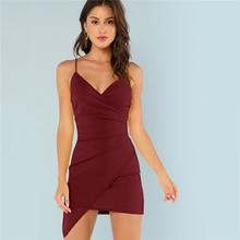 Asymmetrical Sexy Mini Dress for Women