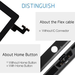 Image 3 - Touch Screen For Apple iPad Mini 3 2 Mini3 Mini2 Touch Screen Digitizer A1599 A1600 A1601A1395 A1396 A1397 With Home Button