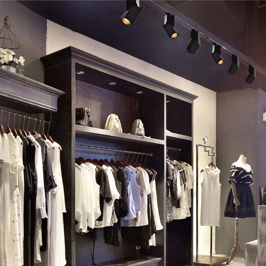 Downlight Cozinha loja Loja de roupas Ferroviário holofotes