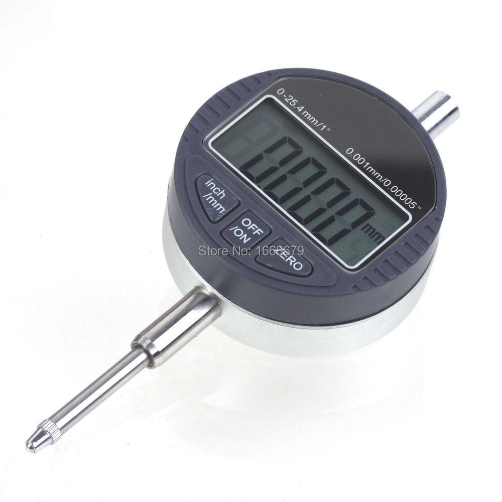 "NEW Digital Dial Indicator 0.001mm//.0005/"" Range 0-25.4mm//1/"" Gauge"