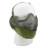 Tactical Full Mask Riding Visor Full Face Protection Impact Resistant Pc Lens Mask Outdoor Airsoft Hunting