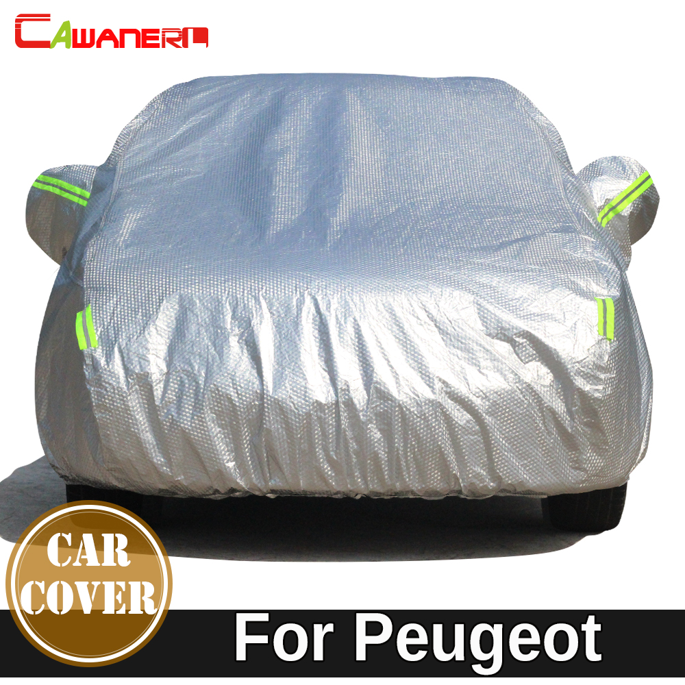 Cawanerl For Peugeot 806 807 Partner RCZ Tepee Bipper Expert Cotton Car Cover Waterproof Sun Snow Rain Resistant Thicken Cover