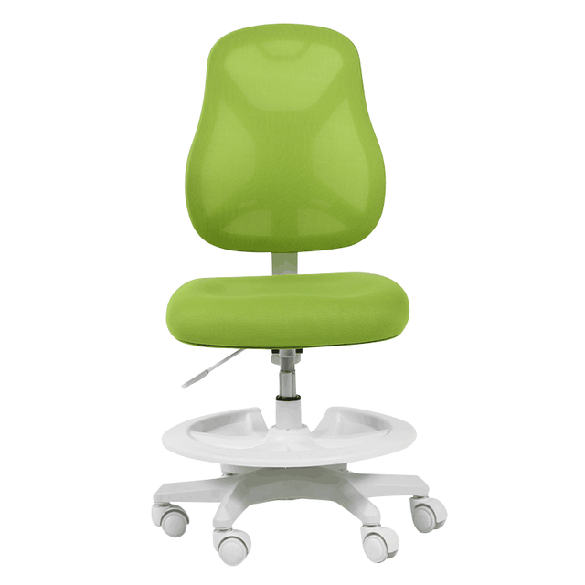 Kids Computer Chair Swivel Integration Sitting Posture Correction With Feet Pedal Lifted Household Student Study Stool Adjustable Soft