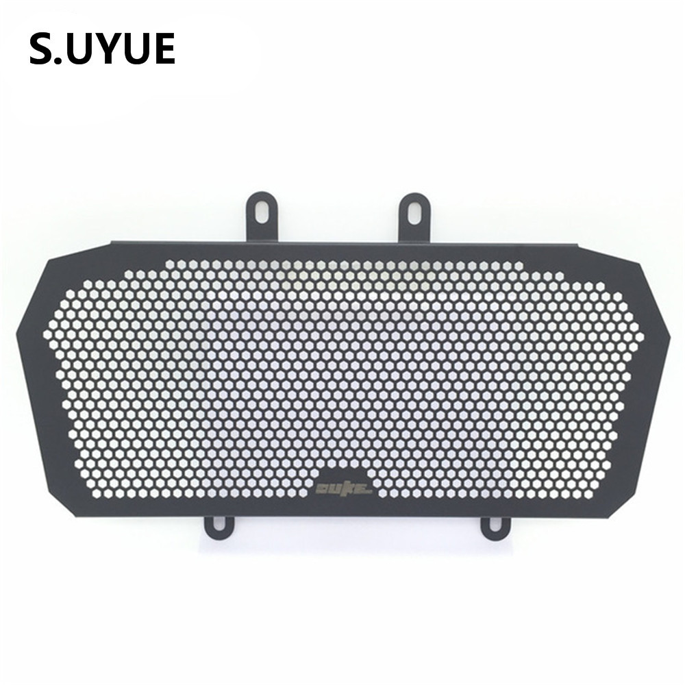 Motorcycle Engine Radiator Bezel Grill Grille Guard Cover Protector Stainless Steel Fit For KTM DUKE 390 2013-2016 stainless steel motorcycle radiator grille guard cover protector for kawasaki z300 z250 compatible abs 2013 2014 2015 2016