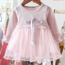 Girls Dress Long Sleeve Kids Tutu Princess Dresses Children Party Vestidos Girls Dresses Autumn Winter Kids Dress For Baby Girl цена