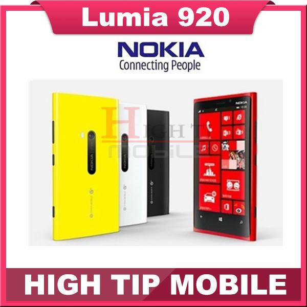 "Nokia lumia 920 original desbloqueado windows mobile teléfono dual core 32 gb 8.7mp 3g gps wifi 4.5 ""pantalla táctil reformado"