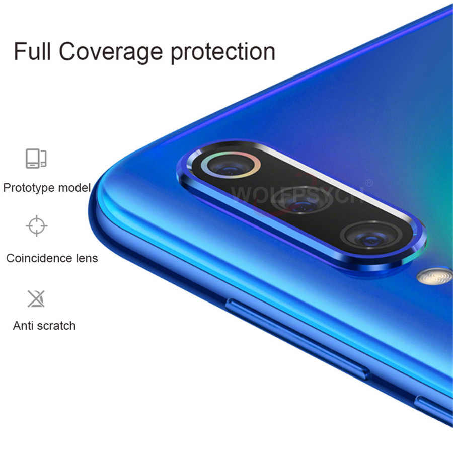For Xiaomi Mi 9T Redmi K20 Note 7 Pro Camera Lens Protector Tempered Glass Camera Lens Film Metal Ring Case Cover Bumper Mi CC9