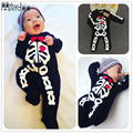 Cool Newborn Baby Boy Girls Long Sleeve Romper Zipper Bodysuit Playsuit with Sock Outfits Clothing