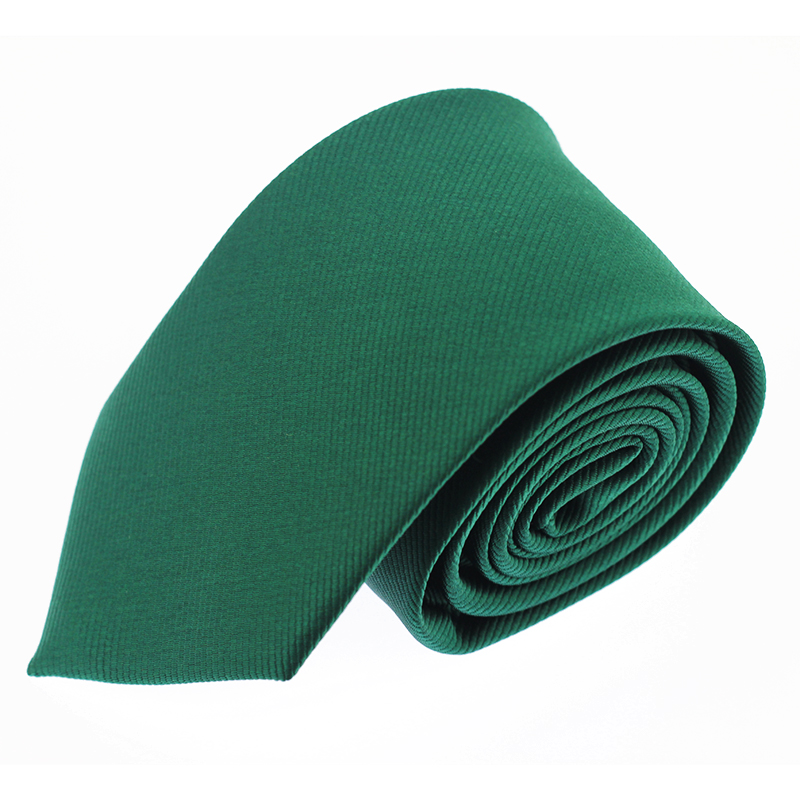 Solid Tie 6Cm Slim Tie Striped Men's Casual Skinny Ties Green Necktie For Men Wedding