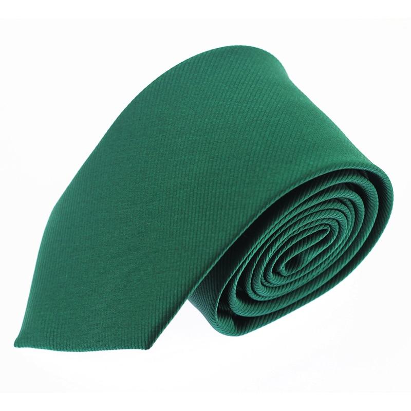 Solid Tie 6Cm Slim Tie Striped Men's Casual Skinny Ties Green Necktie For Men Wedding