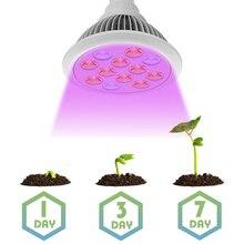 Новый 36 Вт LED Расти Лампа для роста Растений Полный Спектр LED Fitolampy для Цветущих Гидропоники Системы