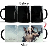 Sex Dragon Mother Daenerys Targaryen Figure Color Changing Mug Novelty Game Of Thrones Heat Reveal Magic
