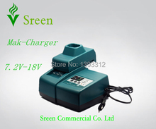 New Universal DC18RC DC18RA Charger Replacement Rechargeable Power Tool Battery Charger for Makita 18V 14.4V 12V 9.6V 7.2V