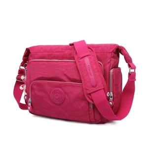 Image 3 - TEGAOTE Luxe Vrouwen Messenger Bag Nylon Schoudertas Dames Bolsa Feminina Waterdichte Reistas vrouwen Crossbody Bag