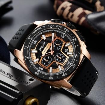 Megir men's casual watch