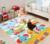 6 pcs bebê XPE esteira de emenda duplo padrão Crianças grosso isolamento moisture-proof crawling mat esteira do enigma costura subir esteiras