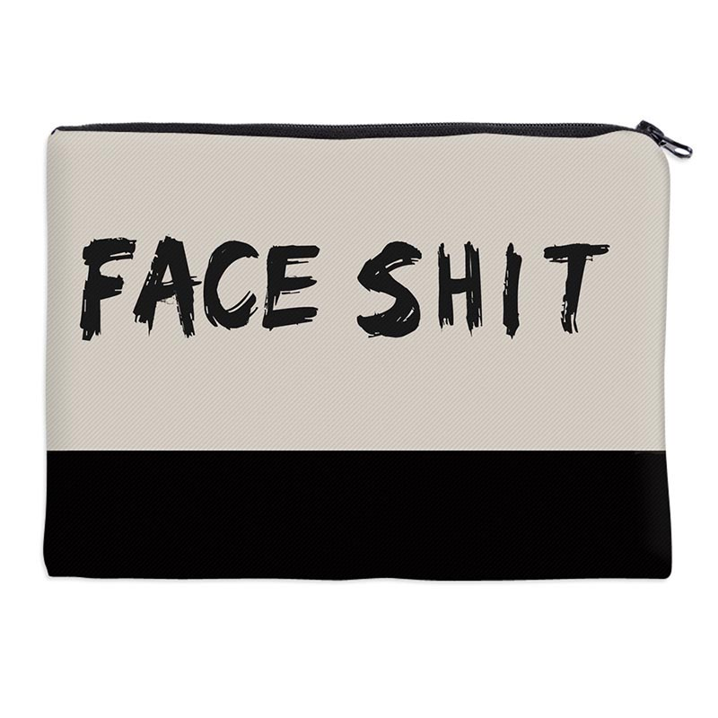 1pc Dropshipping Printing Makeup Bags With Multicolor Pattern Cute Cosmetics Pouchs For Travel Ladies Pouch Women Cosmetic Bag
