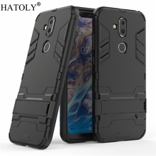 HATOLY For Armor Case Nokia 8.1 Case for Nokia X7 Shockproof