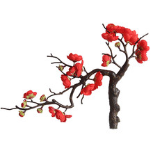 Artificial flower plum Blossom Chinese-style wax plant home decoration wedding holding wall fake
