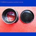 1 peça mini telefone portátil de projeção diy lente LEVOU projetor DIY kits peças lente de comprimento focal 125mm