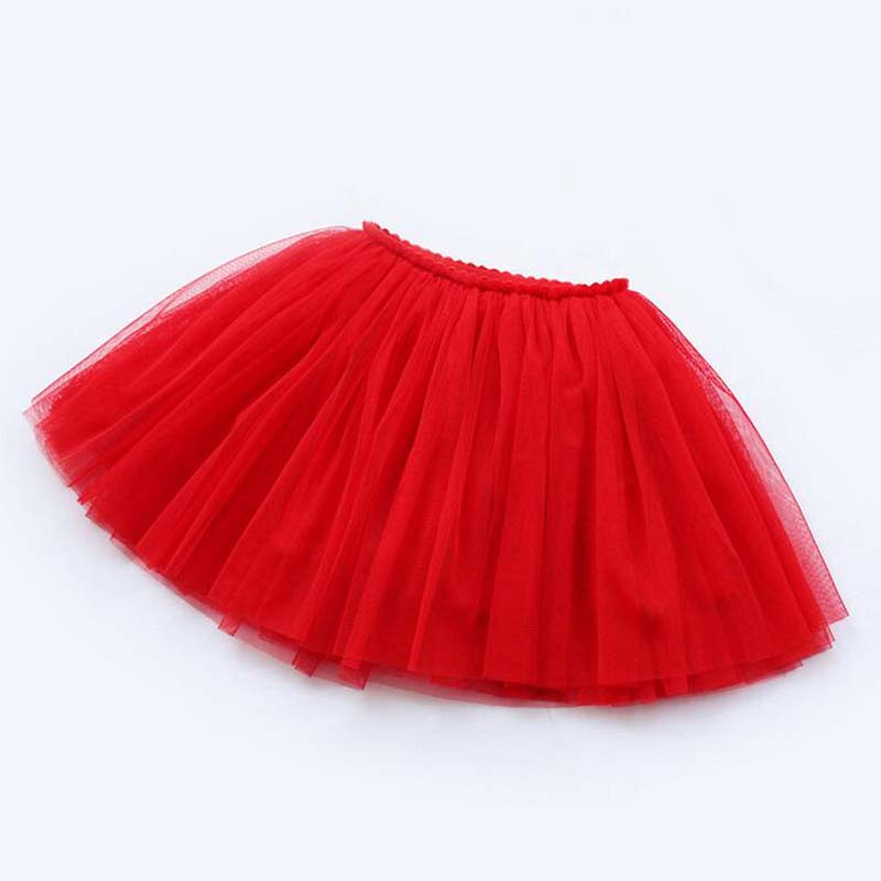 girls skirts princess lovely tutu skirts for 1-12Years kids spring summer clothes 11 color short girls lace skirts dance clothes 5