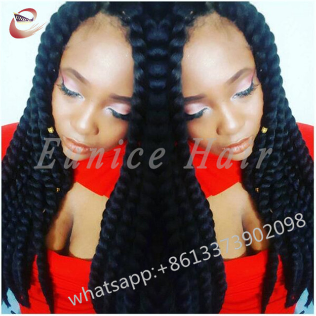 Curly Crochet Goddess Braids Hair Extensions Havana Mambo Twist Grey
