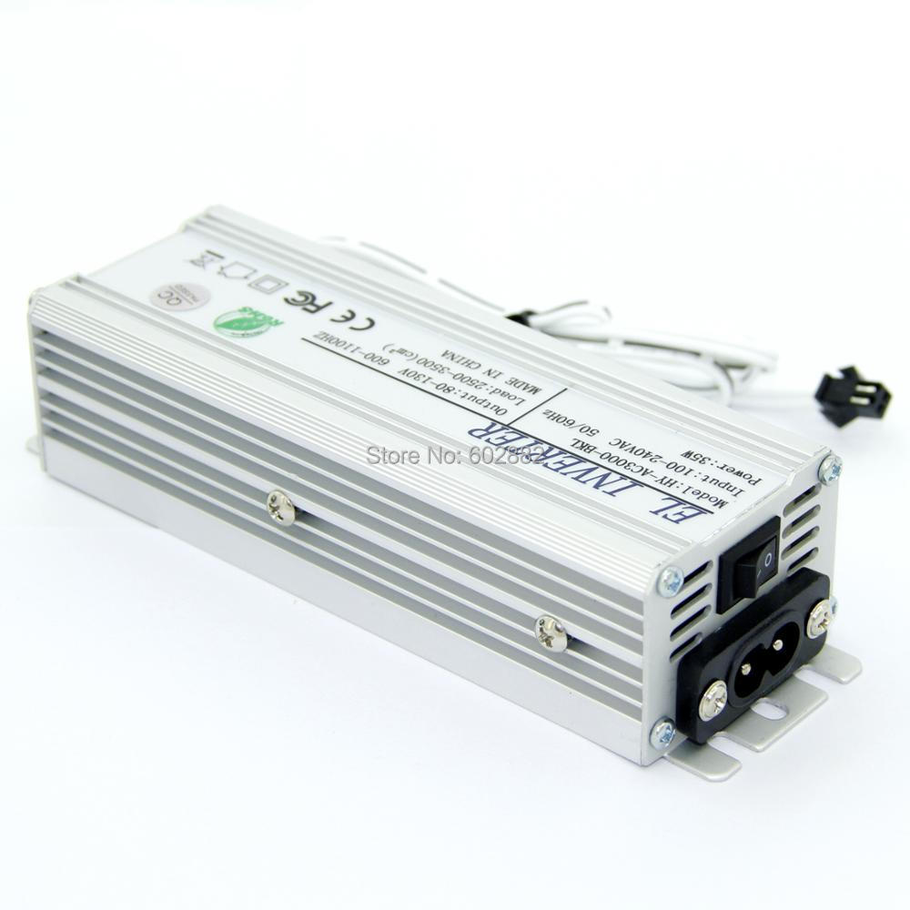220v inverter for el wire(150-210 meter long) and el panel(2500-3500 cm2 el panel) неоновая продукция amazing 150 el el el 2pcs aa amazingw 118