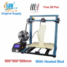 Creality CR-10-Max giant printing measurement DIY desktop 3D printer 500*500*500 mm printing measurement multi-type filament with heated mattress