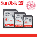 100% Оригинал SanDisk Ultra 32 ГБ 16 ГБ 64 ГБ Class 10 SD SDHC SDXC 32 Г 64 Г Карты Памяти C10 80 МБ/с. Поддержка Официальная проверки