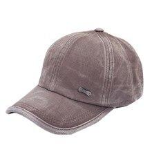 a1d4a73f021 Men Women Solid Adjustable Snapback Baseball Golf Caps Driver Sun Hats (China)