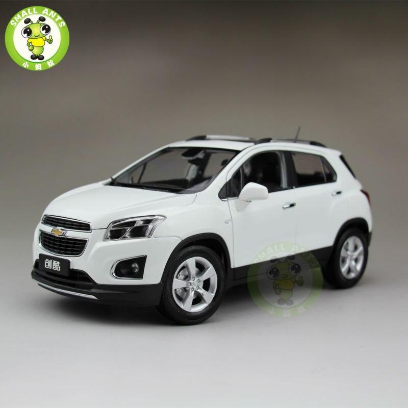 1:18 US GM Chevrolet TRAX 2013 Mini Suv Diecast Car Suv Model White cheverolet monza ixo chevrolet car 1 43 model