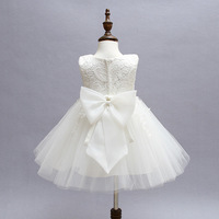 Baby Girl Infant Snow White Dress Princess Girls Dresses 1 Year Birthday Newborn Kids Party Tutu