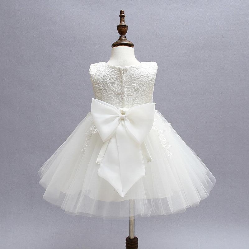 c40a8ba9df4f Aliexpress.com   Buy Cute Infant Party Dress 1 Year Birthday Baby ...
