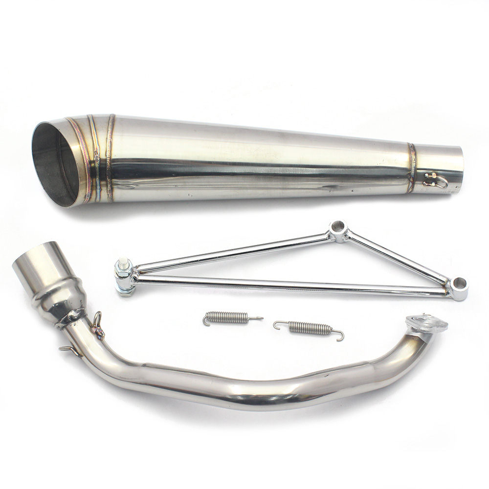 Stock Clearance Trade Wholesale Prices 52mm Exhaust Stainless Steel Pipe Tube 1m