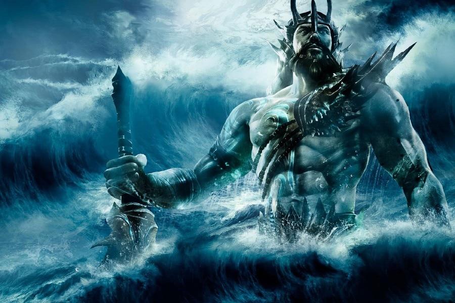 deiolimpici Poseidone, la Tempesta - autore ignoto Pubblicazione incerta © Deviantart.net