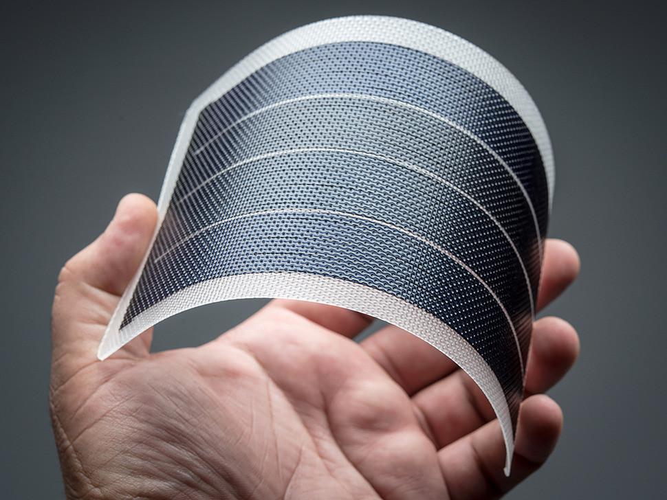 6W 1V Flexible thin solar panels