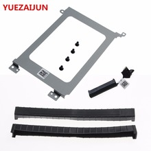 NEW For Dell Precision 5510 & XPS15 9550 HDD Hard Drive Connector Cable XDYGX + HDD Bracket Caddy 3FDY3 +Screws+Rubber Rail