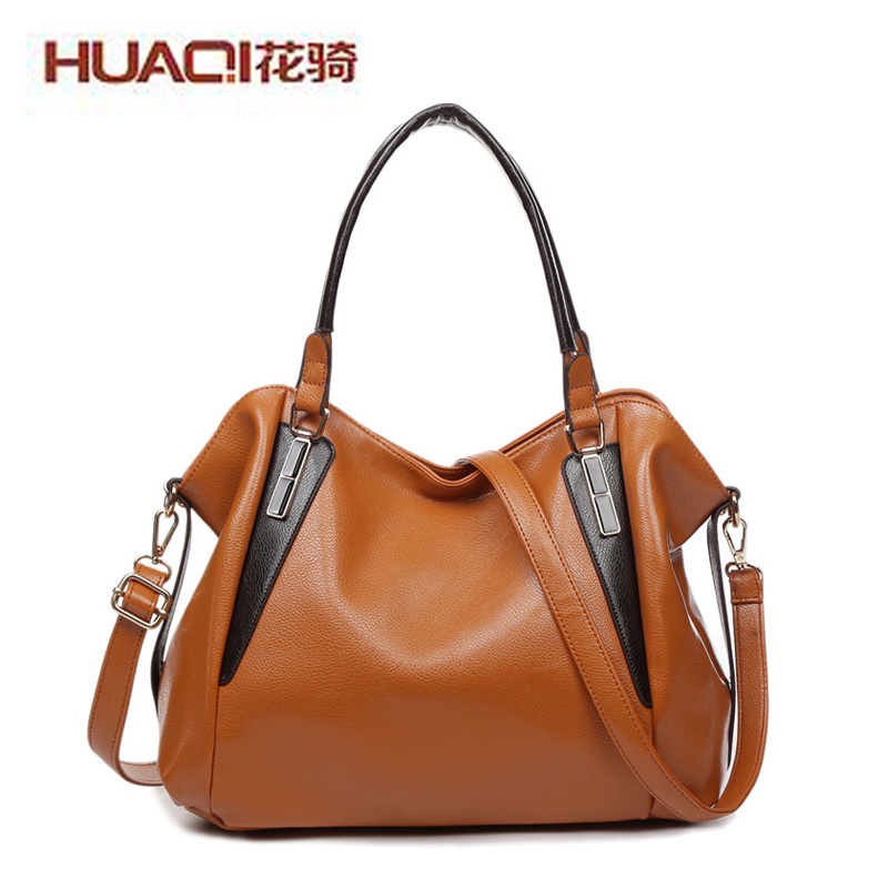 Casual Women's Genuine Leather Bag Famous Brand Women Shoulder Bags Designers New 2017 Hand Bags Ladies Bolsas Mujer HQ5001