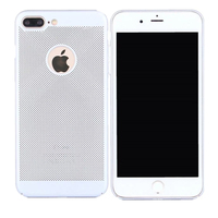 CCDZ Breathing Heat Dissipation Phone Cases For IPhone 7 Plus Phone Case For IPhone 8 Plus