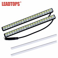 LEADTOPS Car Styling Universal Turn Signal Indicator Lamp Source 42 SMD LED DRL White Turn Amber
