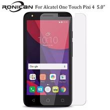RONICAN Закаленное стекло протектор экрана для Alcatel One Touch Pixi 4(5) 5010 Pixi4 5,0 5010D 5010X Защитная пленка для экрана чехол
