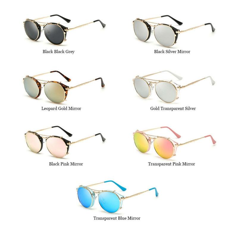 2017 Baru Kedatangan Vintage Steampunk Kacamata Cermin Kacamata Hitam - Aksesori pakaian - Foto 6