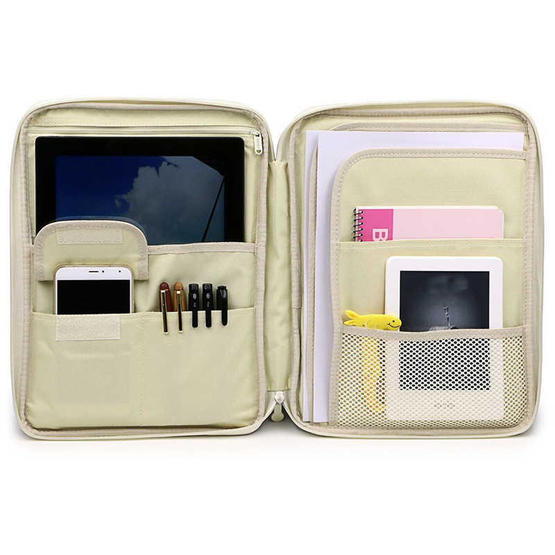 Briefcases Waterproof Document-Bags Notebooks-Pens Office-Products Oxford Business Solid