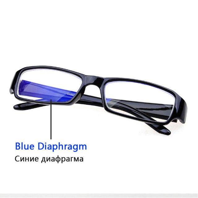 ff3e9d750e04 Brand Designer Men Women Fashion Square Light Cosy Frame Plain Glasses  Optical Eyewear Myopia Eyeglasses -