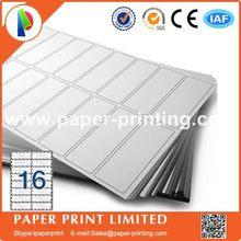 2000 листов, совместимых с L7162/J8162, пустые матовые белые этикетки для лазерного и струйного принтера, этикетки a4, размеры: 99,1x34 мм