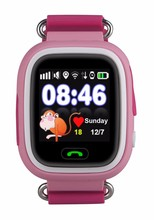 Children GPS Wifi Touch Screen SOS Call Smart Watch Device Tracker For Kid Safe Anti-Lost Different Language Chlild Smart Watch